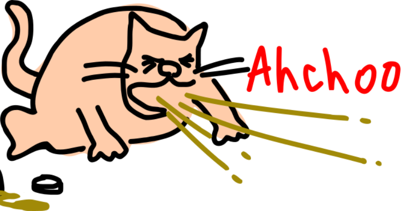 Sneezing-cat-by-Rones