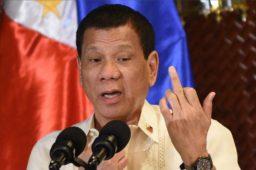 Duterte Giving Us the Finger
