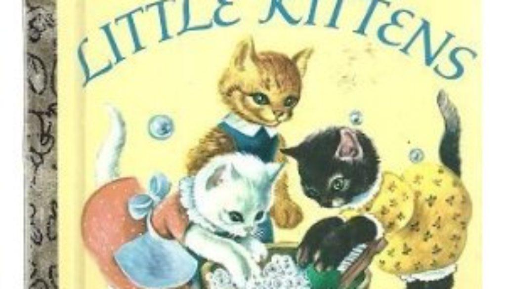 The Three Little Kittens Little Golden Book